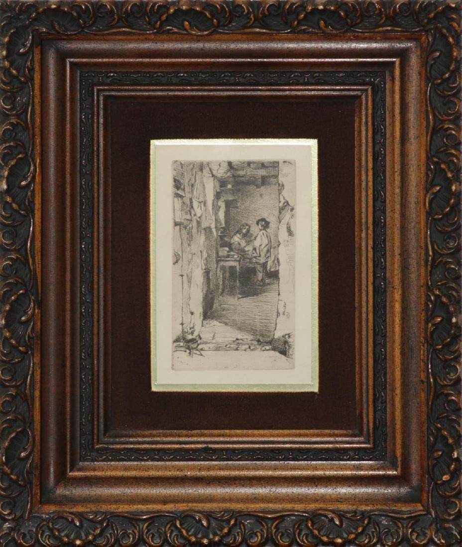 James Abbott McNeill Whistler - The Rag Gathers