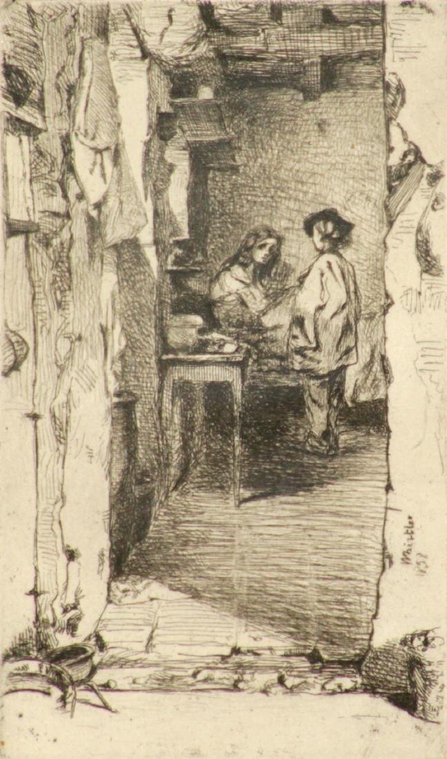 James Abbott McNeill Whistler - The Rag Gathers - 2