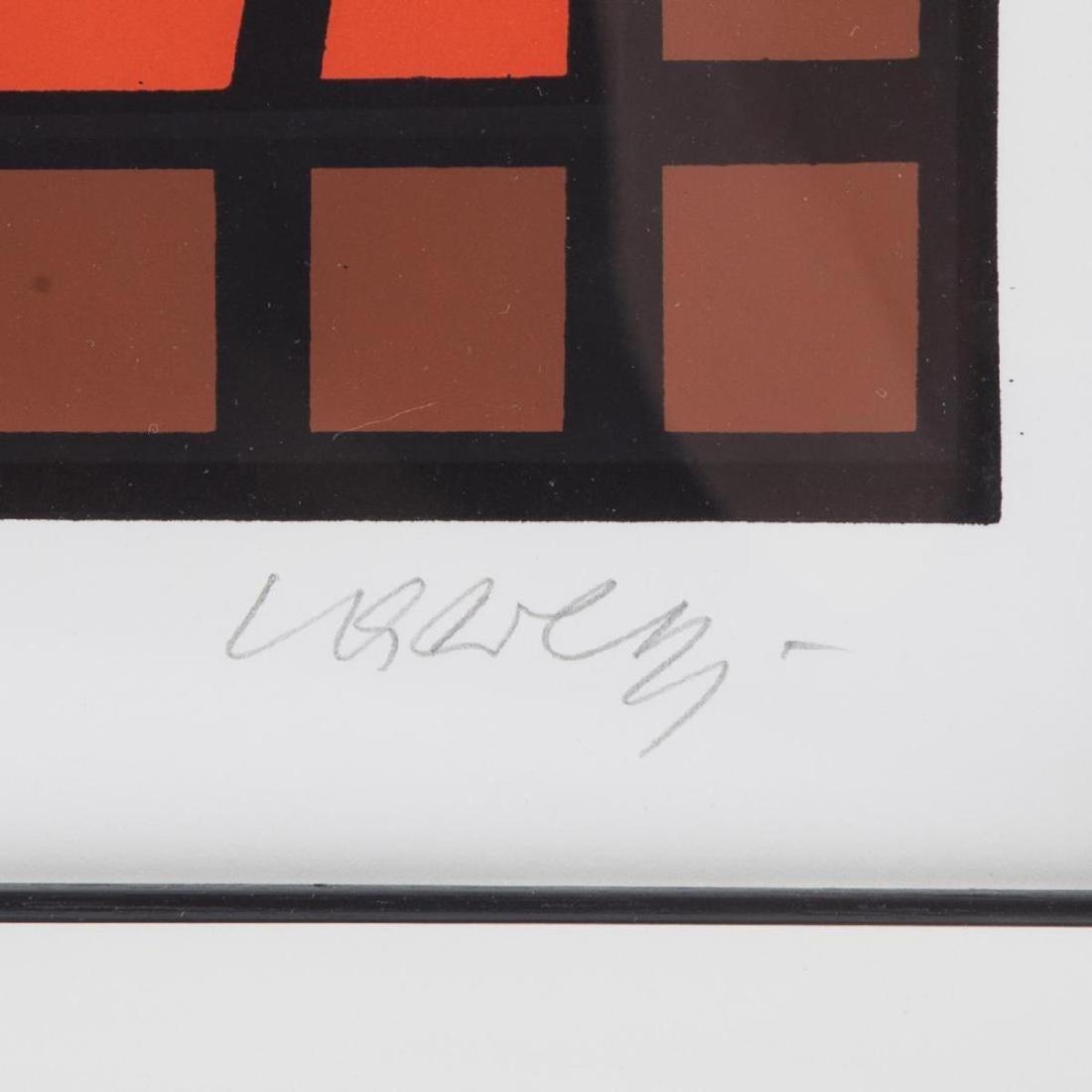 Victor Vasarely - Huge Untitled Op-Art Composition - 2