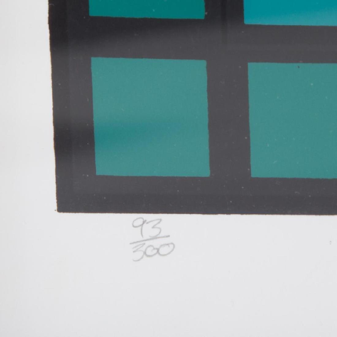 Victor Vasarely - Huge Untitled Op-Art Composition - 3