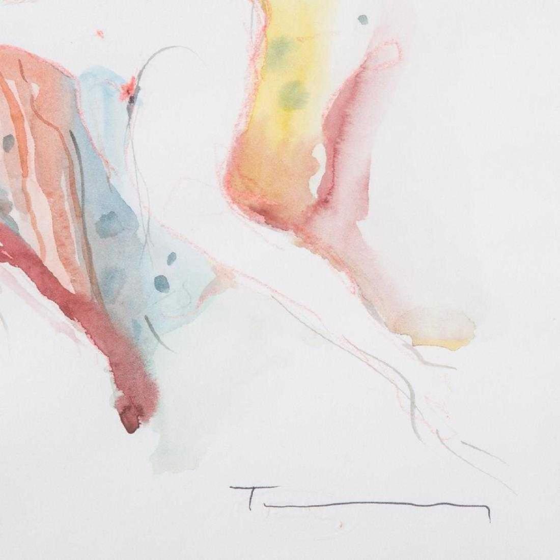 Itzchak Tarkay - Reclining Nude - 2