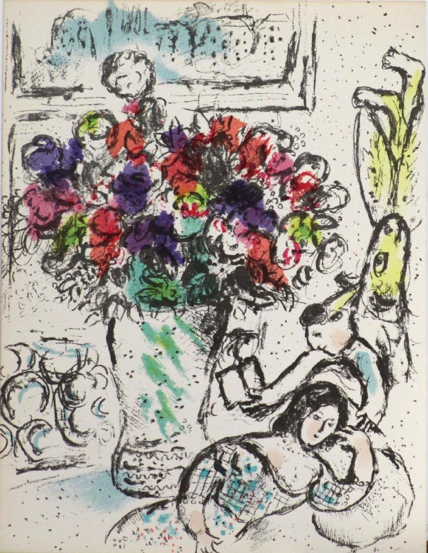 Marc Chagall - Les Anemones