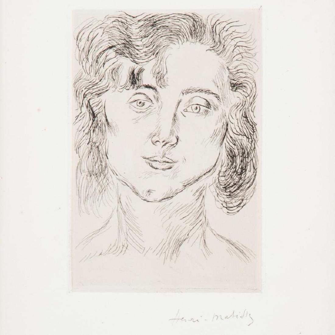 Henri Matisse - Portrait of Madamoiselle Mmle