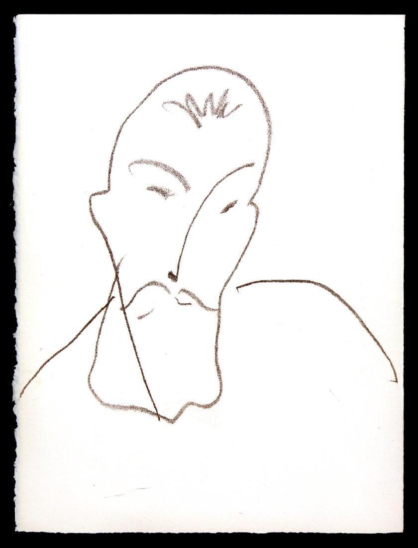 Henri Matisse  - Portrait of Jean-Antoine Nau
