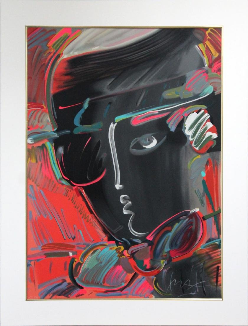 Peter Max - Zero with Bowler