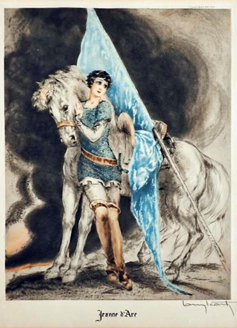 Louis Icart - Joan of Arc