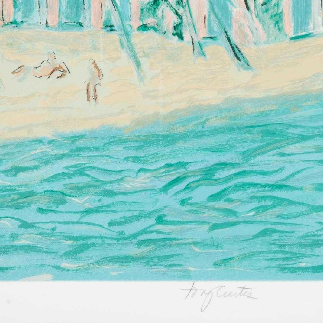 Tony Curtis - Beach Scene - 2