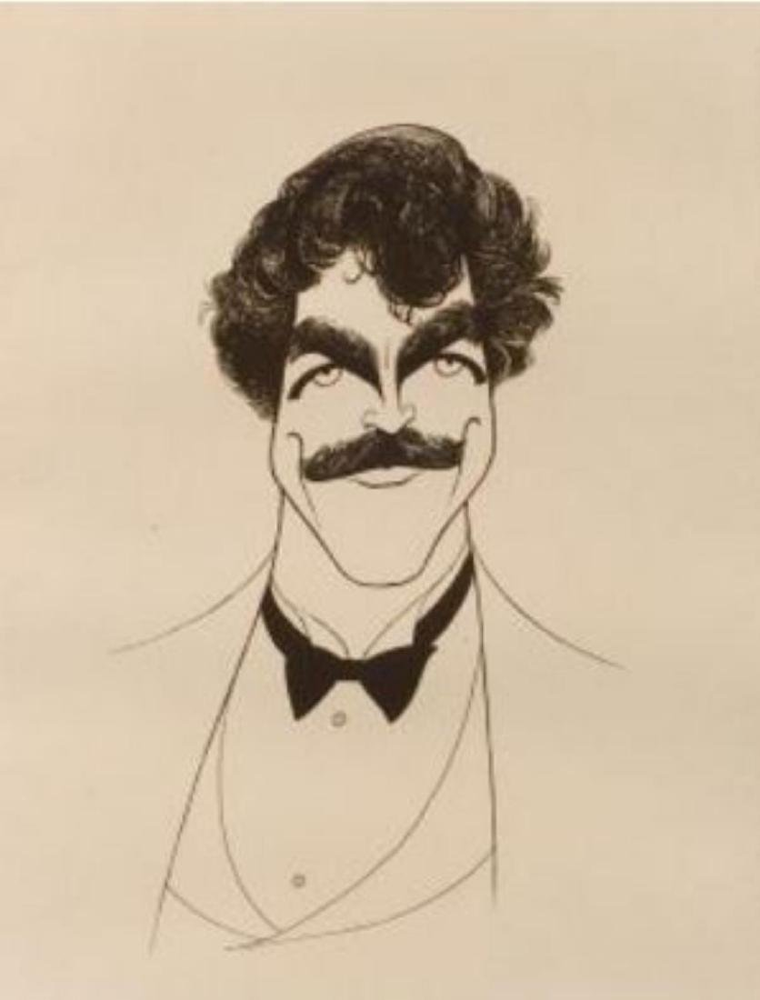 Al Hirschfeld - Tom Selleck