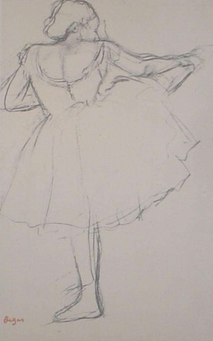 Edgar Degas - Danseuse