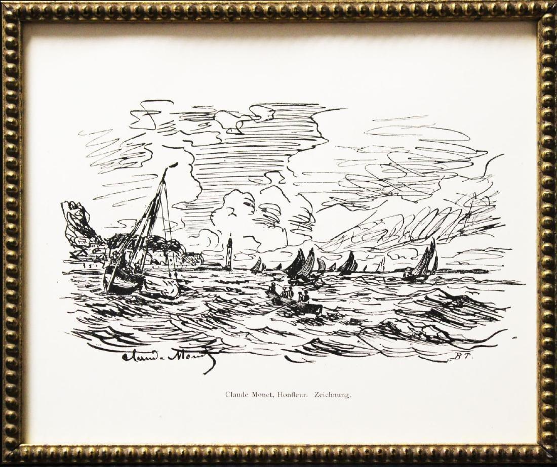 Claude Monet - Vue de Honfleur