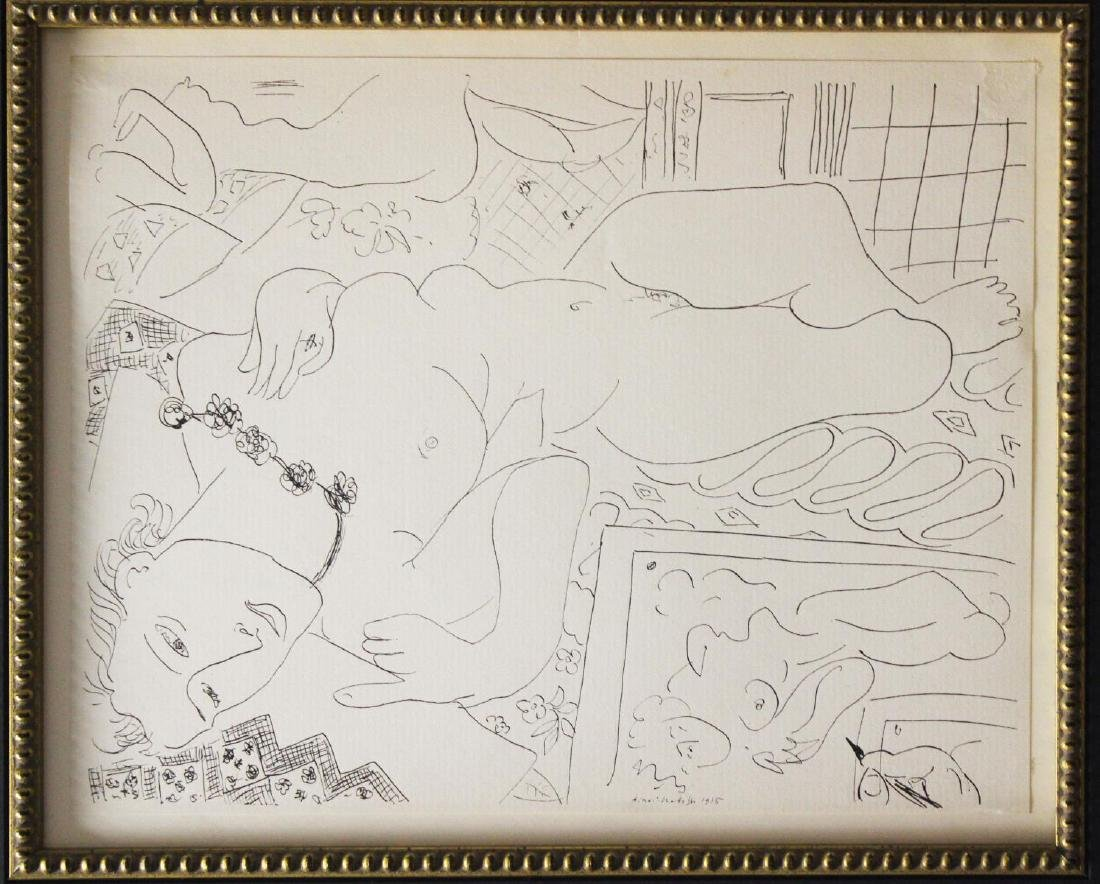 Henri Matisse (After) - Untitled Nude