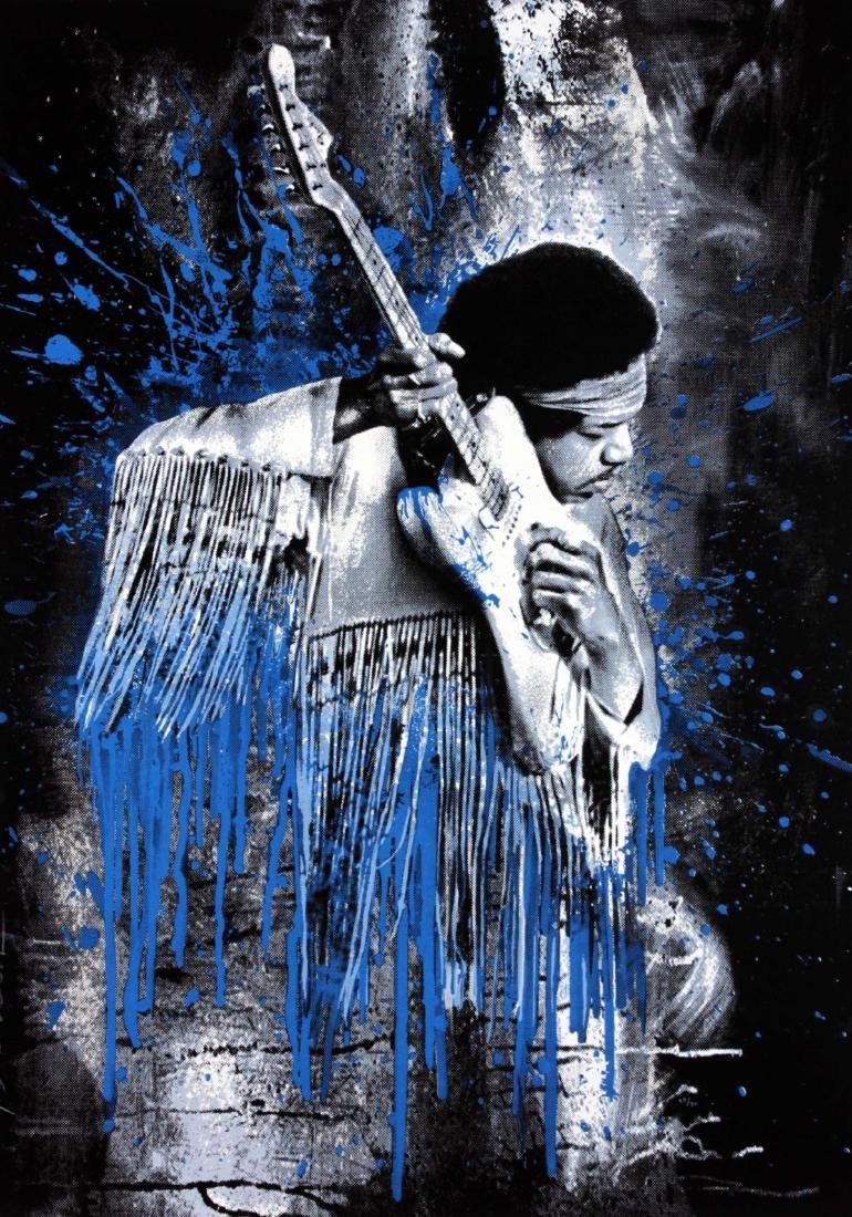 Mr. Brainwash - Hendrix (Blue)