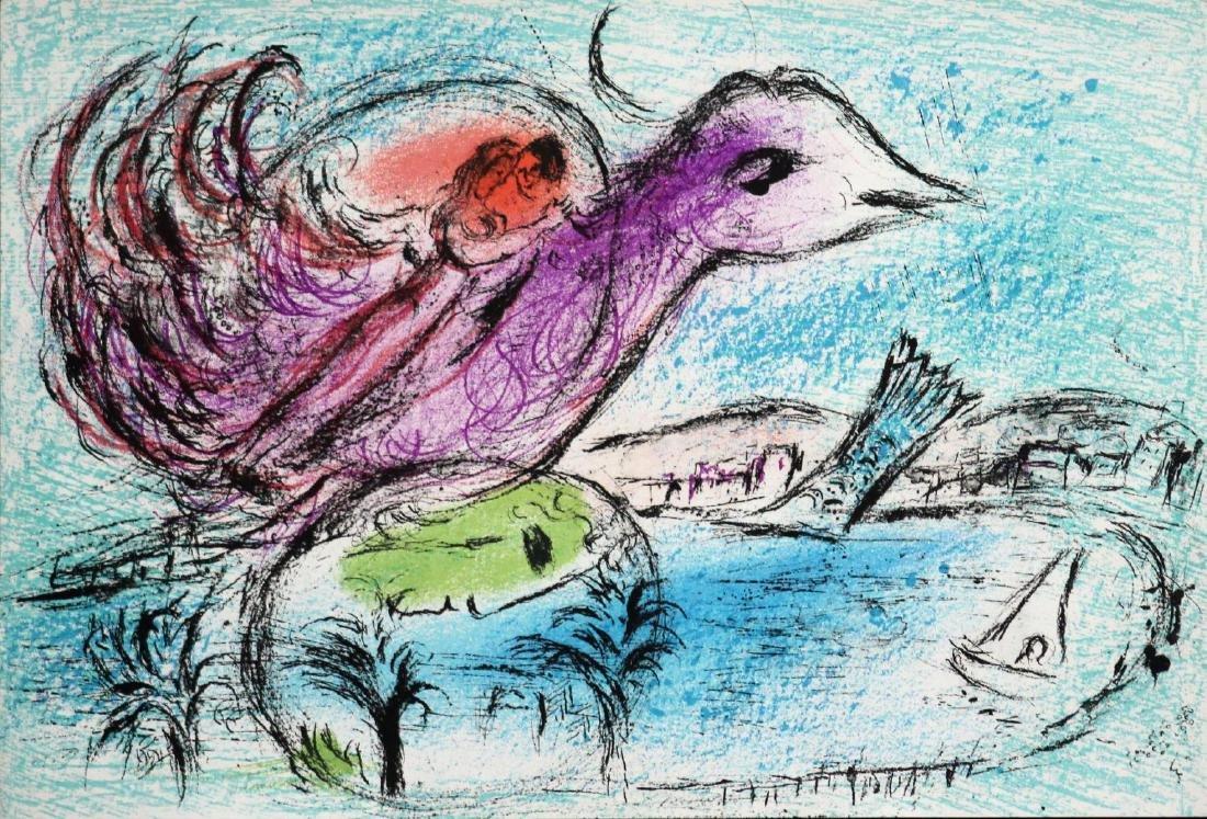 Marc Chagall - La Baie