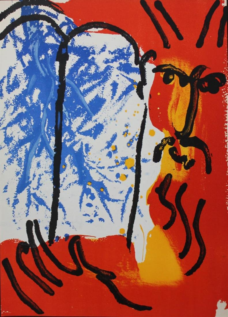 Marc Chagall - Moses from the Bible - 2