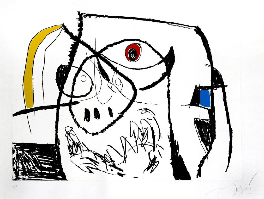 Joan Miro - Mallorca Plate XII