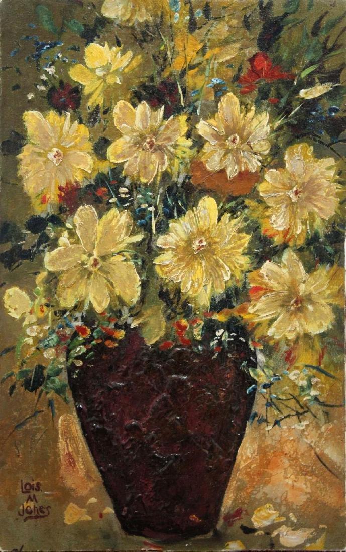 Lois Mailou Jones - Unititled Still Life Oil Painting