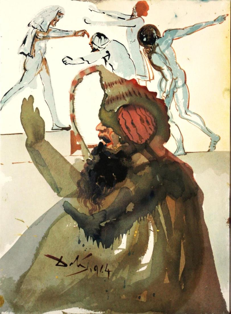 Salvador Dali - Joseph and His Brothers in Egypt