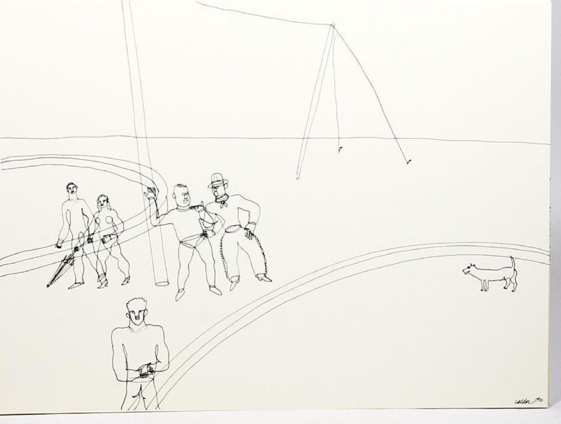 "Alexander Calder (after) - Untiteld from ""16 Circus"