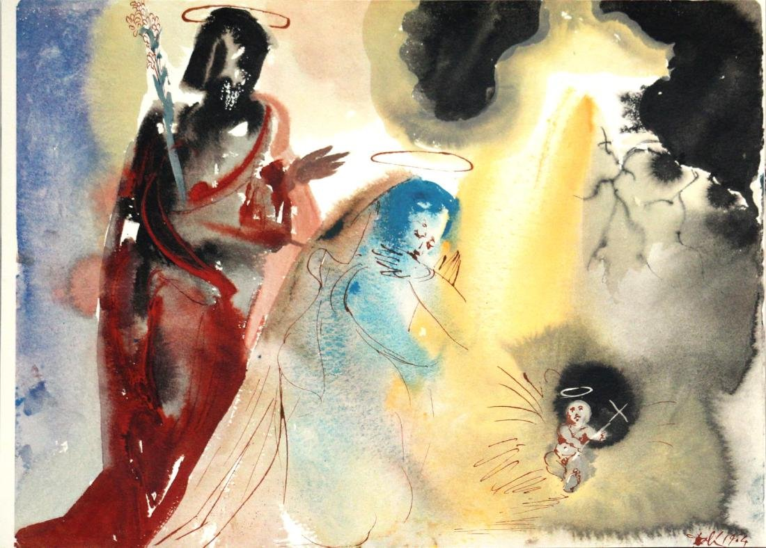 Salvador Dali - The Birth of Jesus