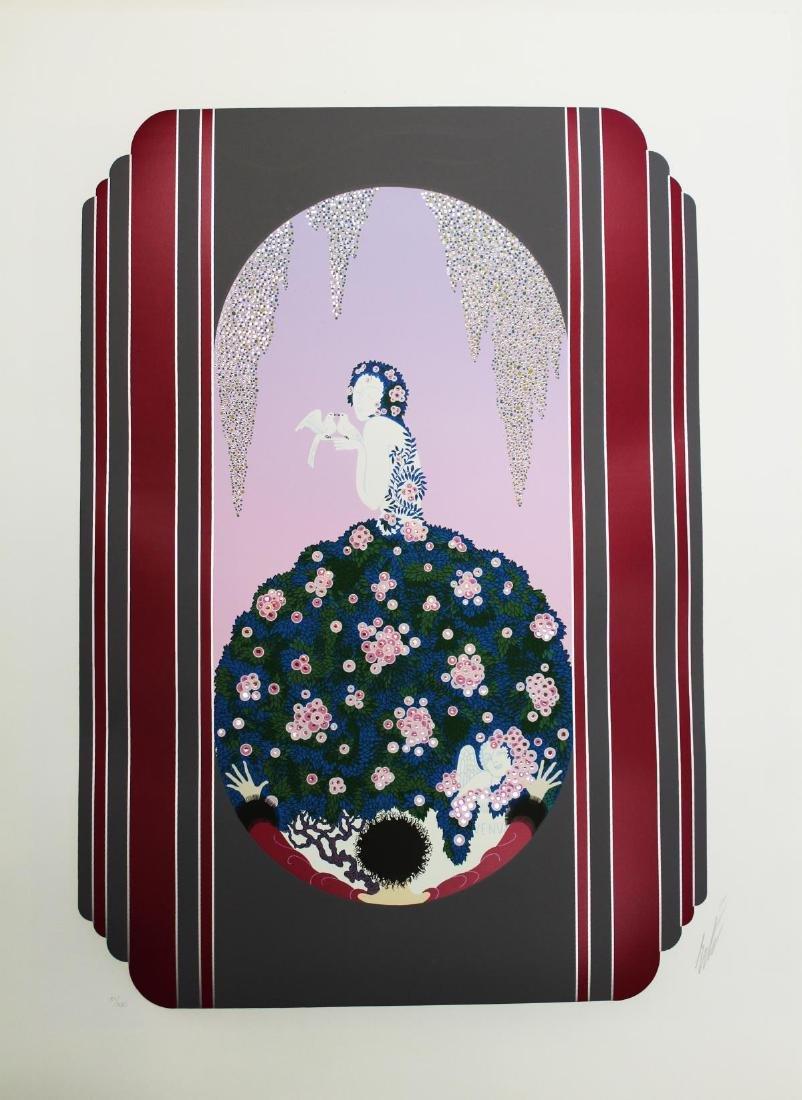 Erte  - The Spring Dress of Venus