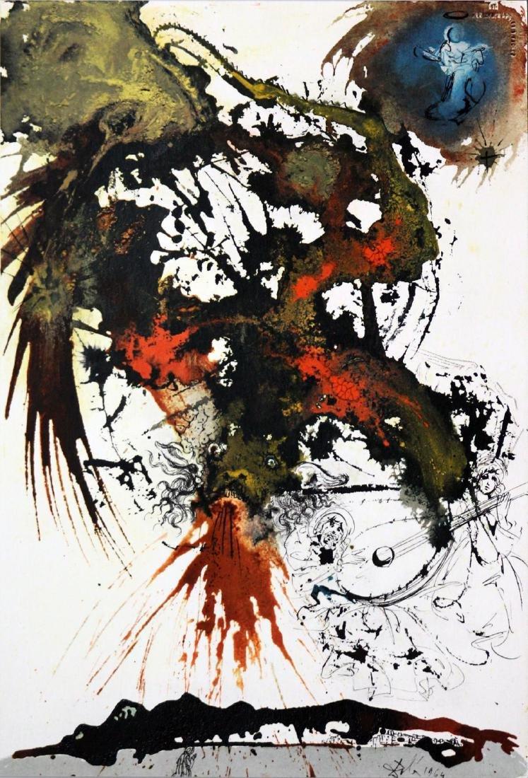 Salvador Dali - A Great Battle in Heaven