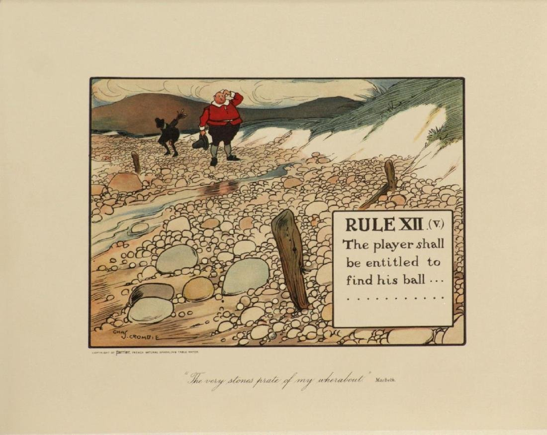 Chas Crombie - The Rules of Golf XII