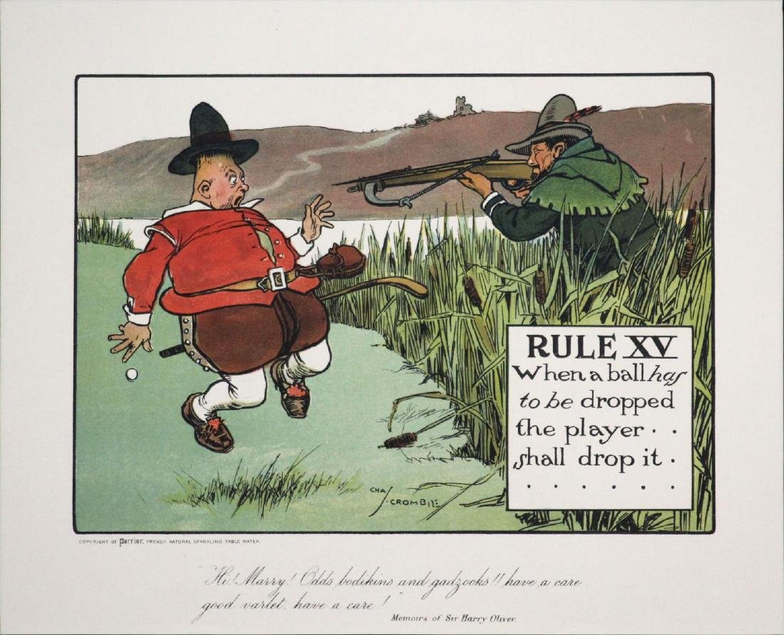 Chas Crombie - The Rules of Golf XV