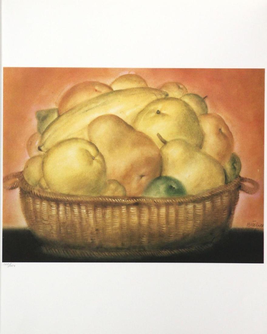 Fernando Botero (After)  - Bowl of Fruit