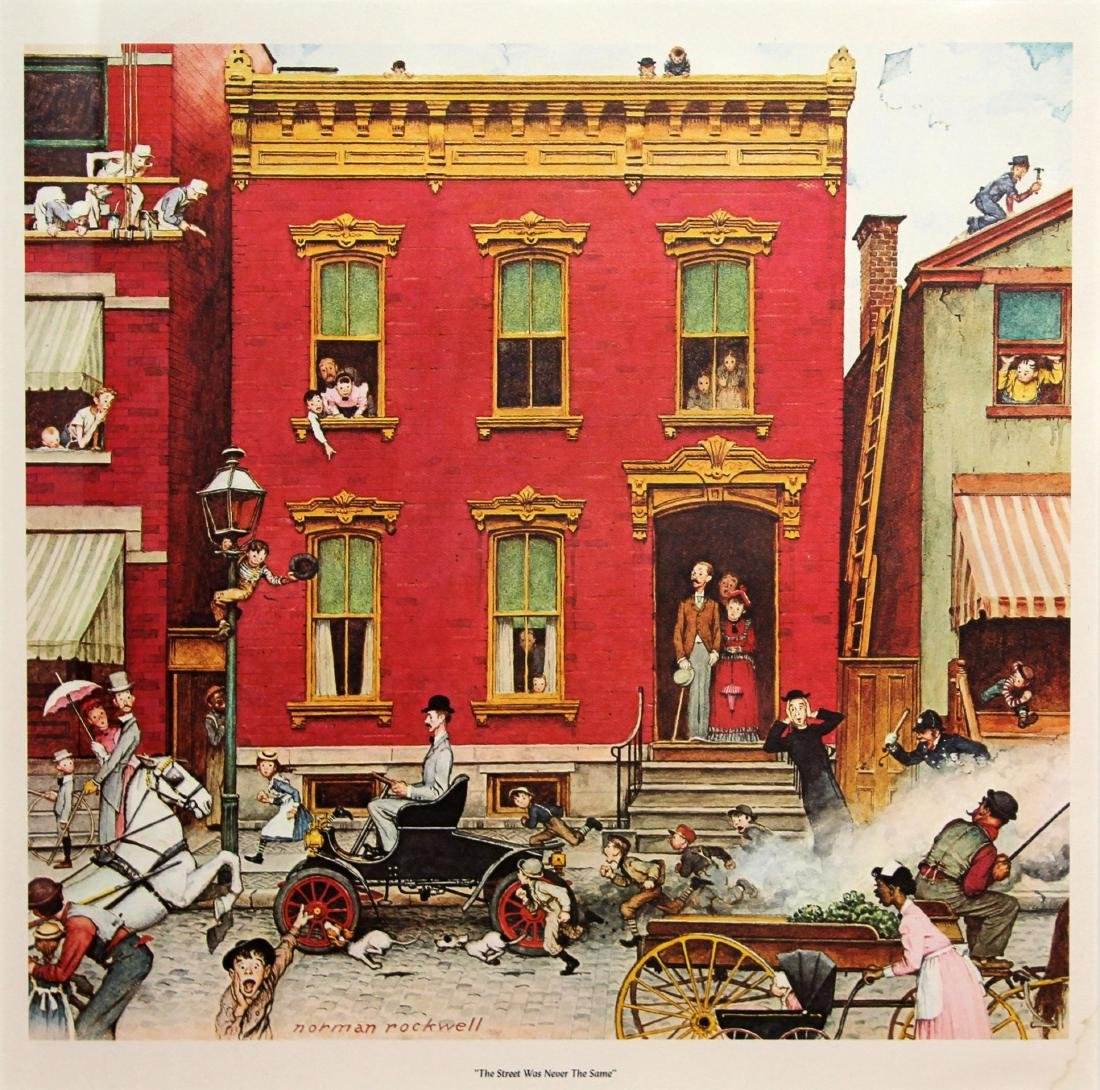 Norman Rockwell - The Street was Never the Same Again