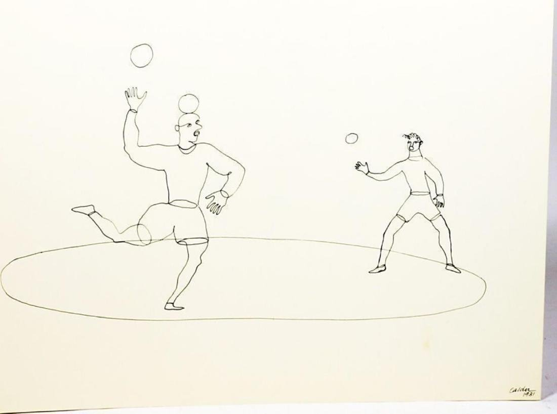 """Alexander Calder (after) - Untiteld from """"16 Circus"""