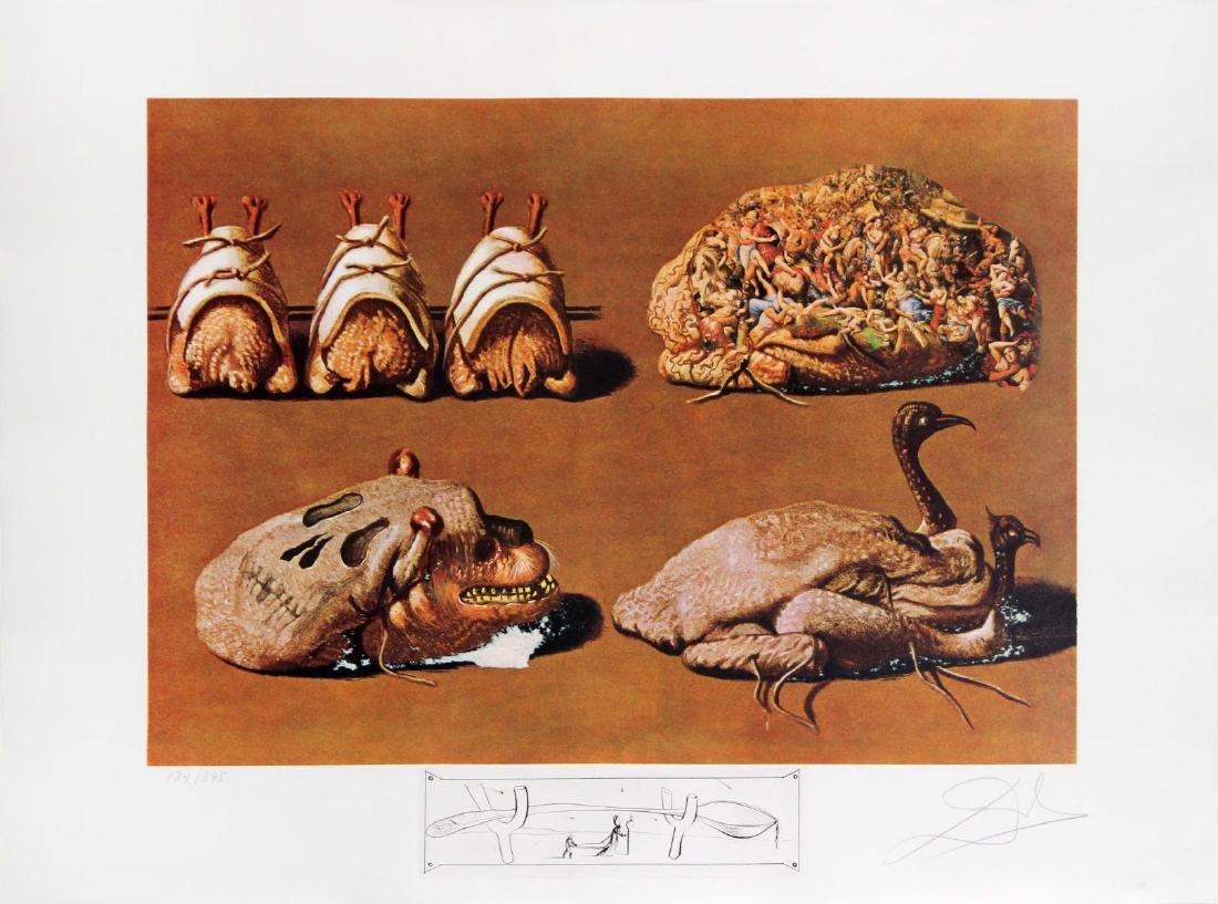 Salvador Dali - Princely Plier Caprices