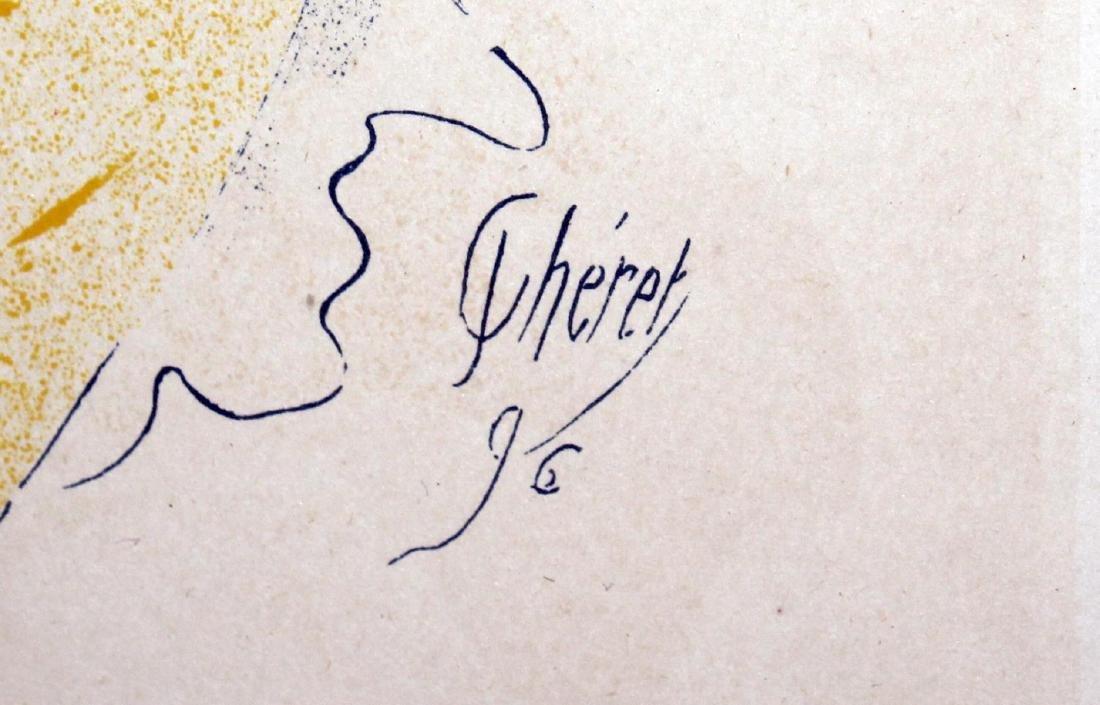 "Jules Cheret - ""Theatre de L'Opera"" Vintage Poster - 2"