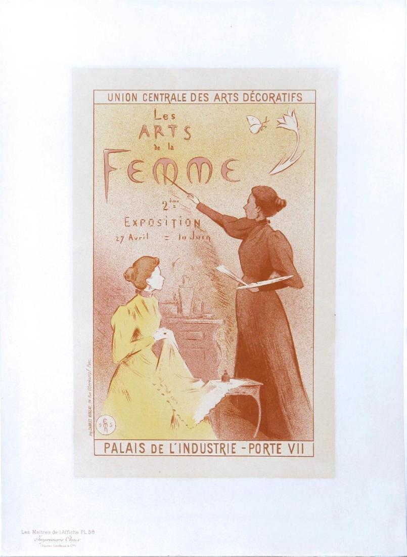 """Etienne Moreau-Nealton - """"Les Arts de la Femme"""" Vintage"""