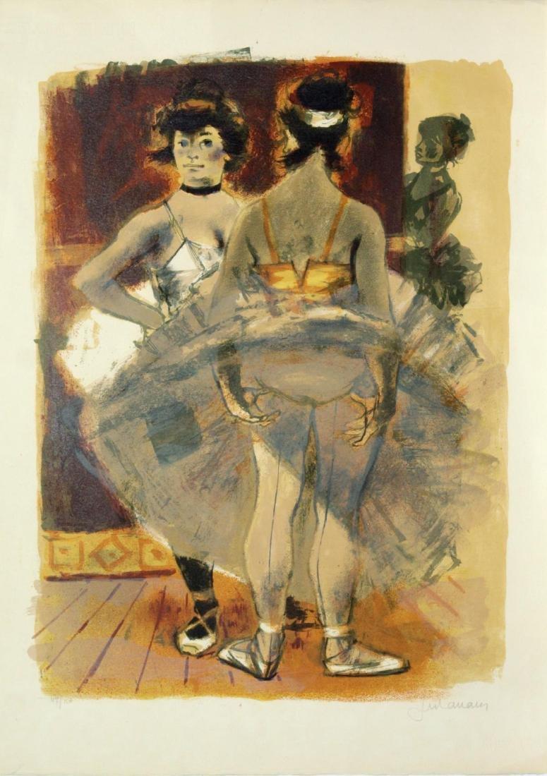 Lucien Joseph Fontanarosa - Ballerinas in Tuto