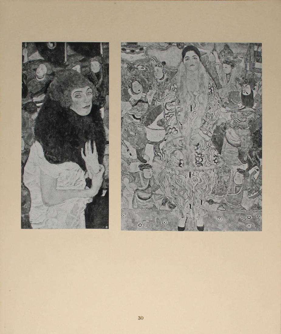 Gustav Klimt - Der Pelzkragen/Damen-Bildnis