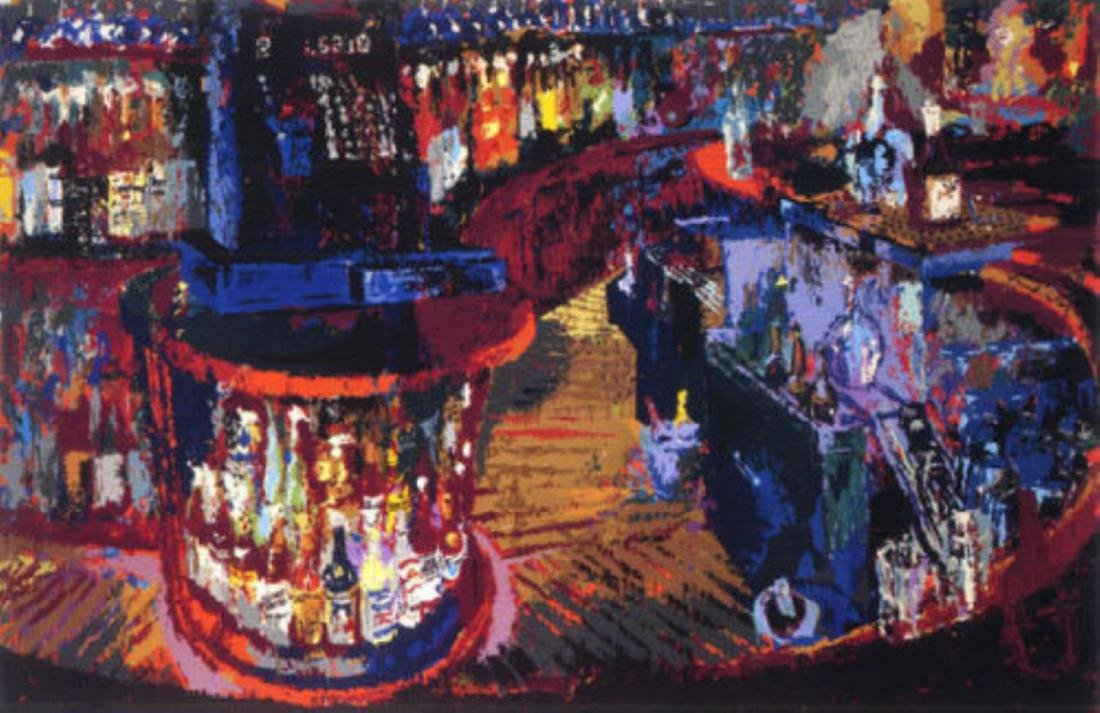 LeRoy Neiman - Rush Street Bar Chicago