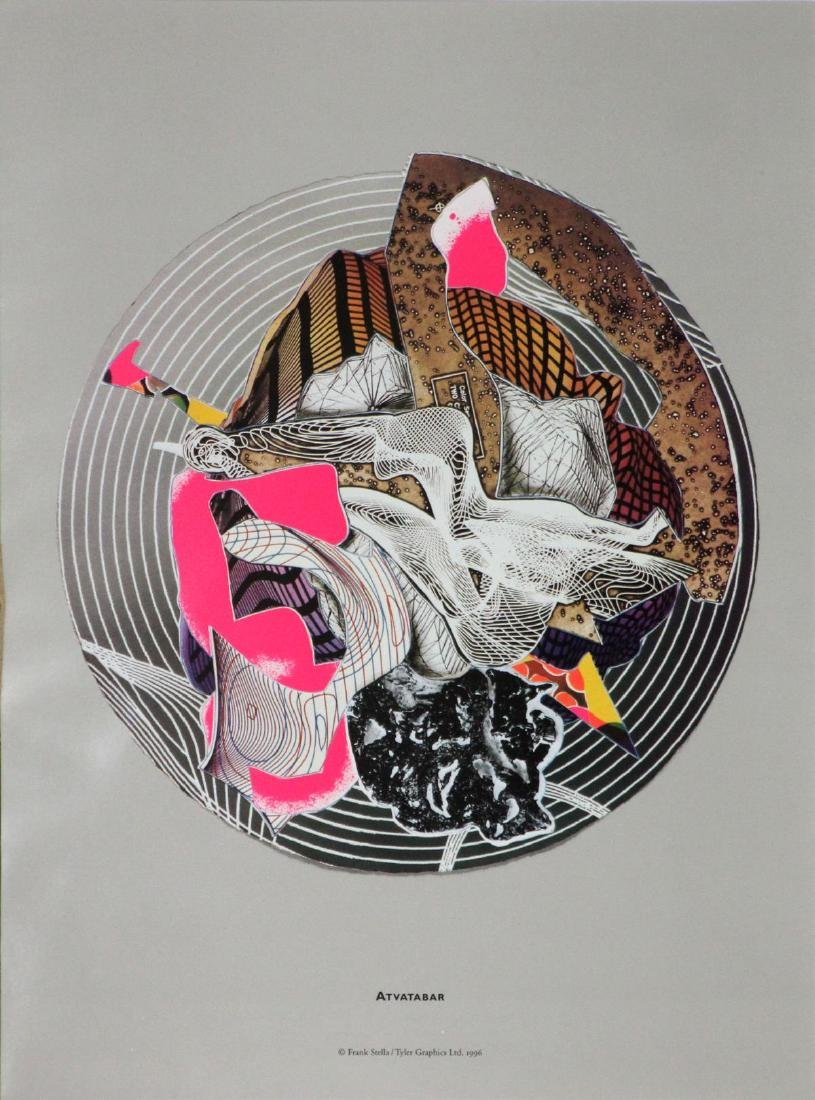Frank Stella (After) - Atvatabar