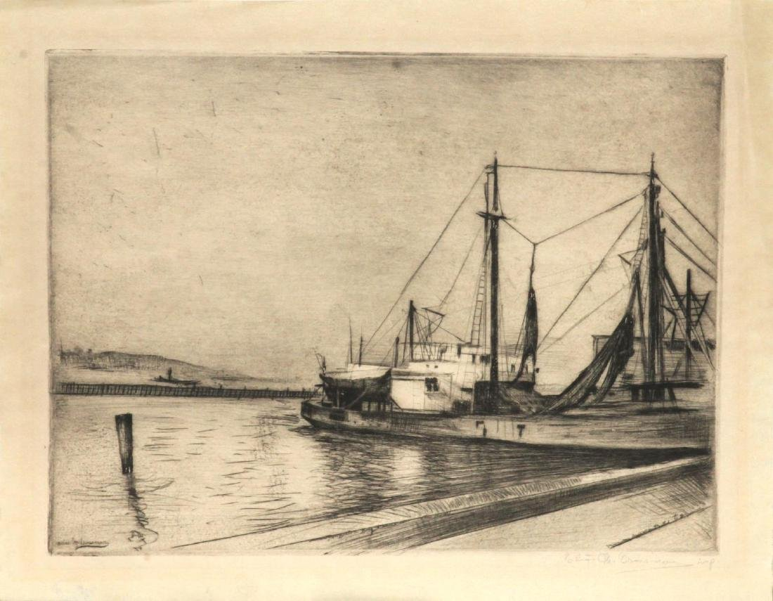 Elias Grossman - Untitled (The Harbor)