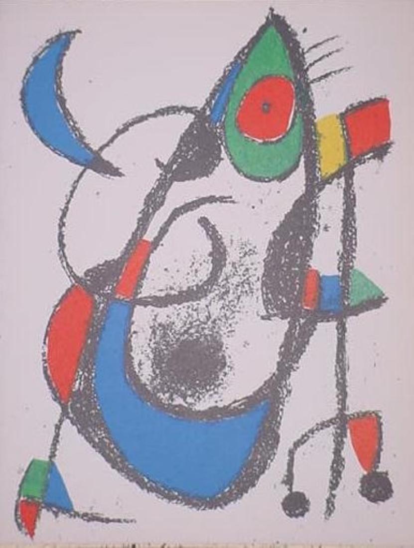 Joan Miro - Original Lithograph XI