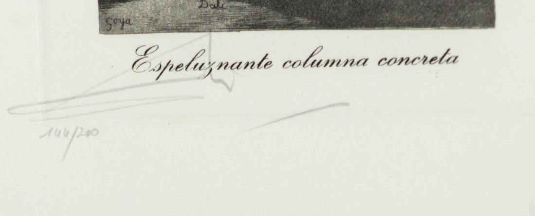 Salvador Dali - Espeluznante Columna Concreta - 2