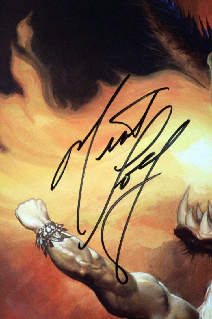 Meat Loaf - Hand Signed Tour Poster - 2