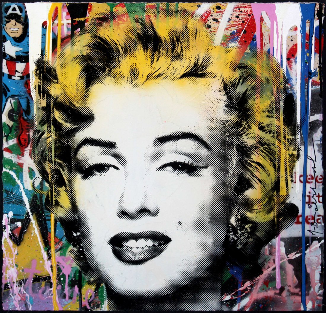 Mr. Brainwash - Marilyn (Unique Original)