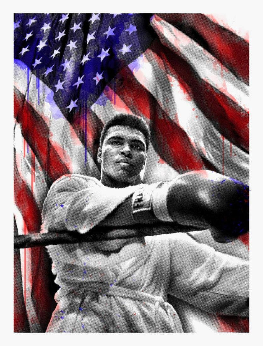 Mr. Brainwash - American Hero (Ali)