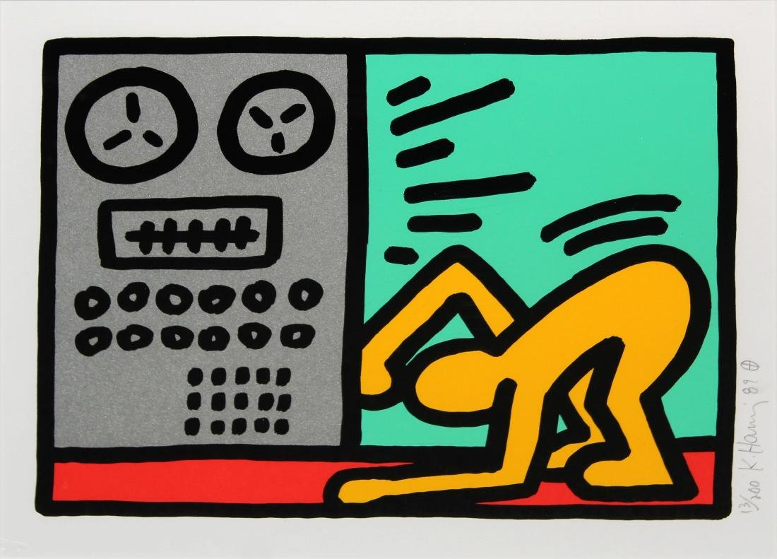 Keith Haring - Pop Shop III