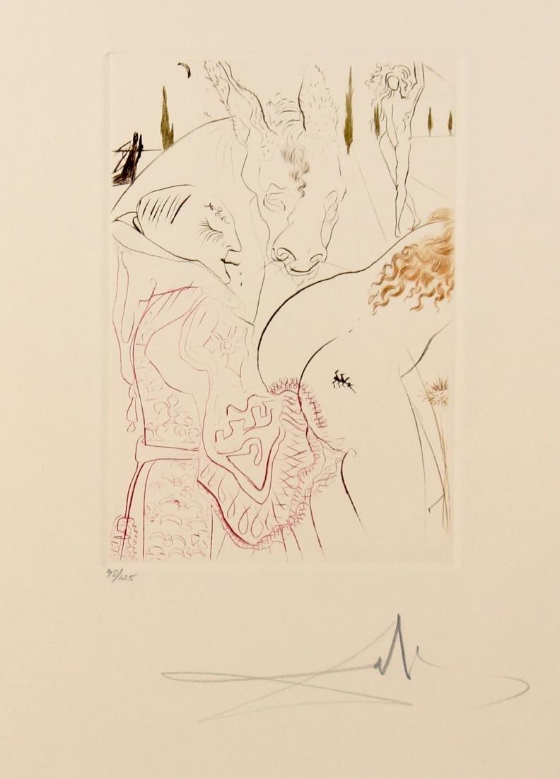 Salvador Dali - Le jument de compere Pierre