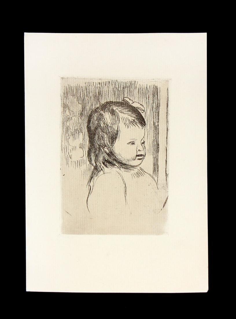 Buste d'Enfant Tournee a Droitte by Pierre-Auguste