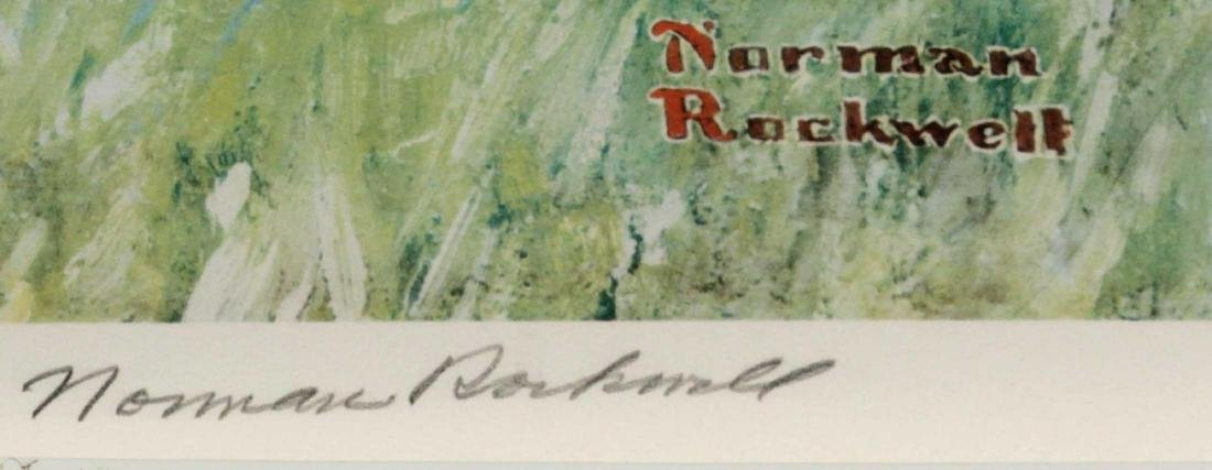 Norman Rockwell - Three Boys Fishing - 3