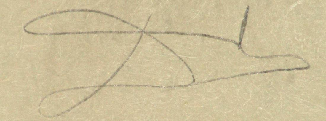 """Salvador Dali - Untitled from """"Les Songes Drolatiques - 2"""
