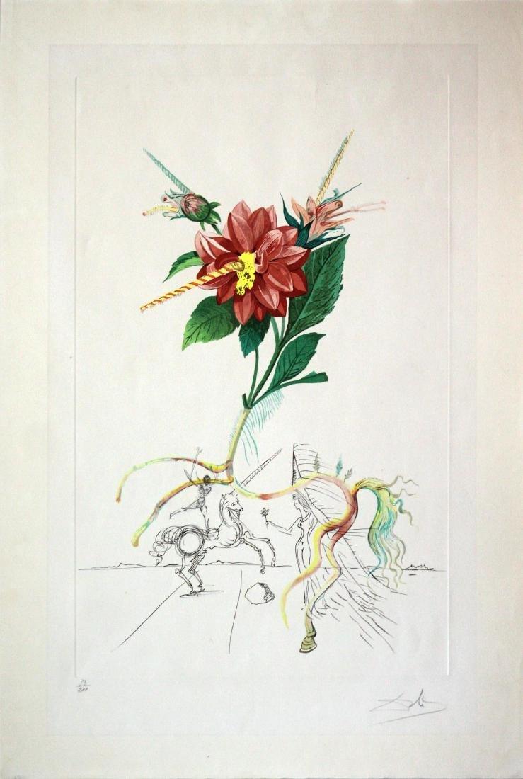 Salvador Dali - Dahlia Unicornis