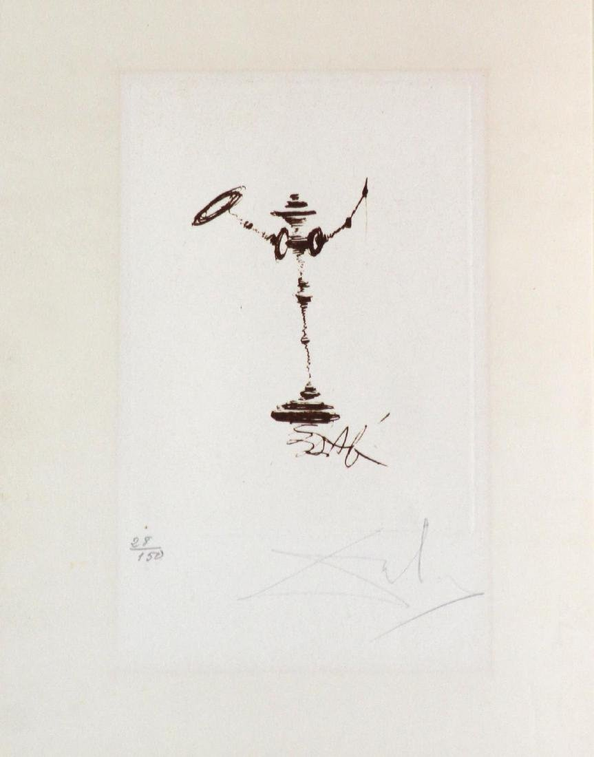 Salvador Dali - Don Quixote